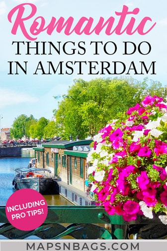 Amsterdam for couples - Pinterest graphic