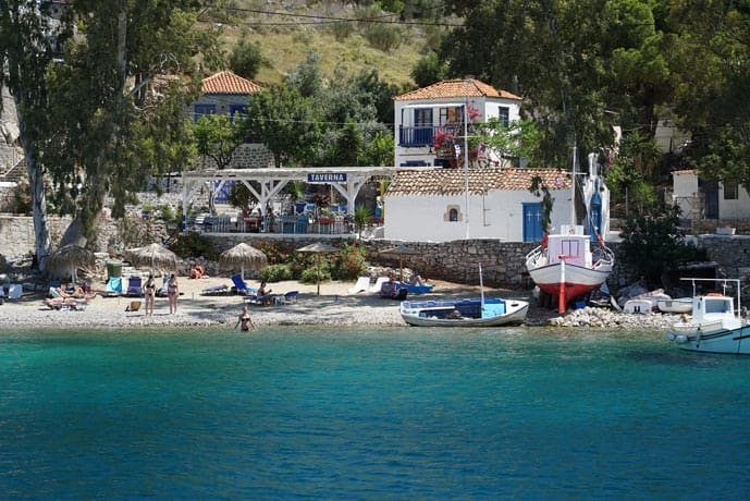 Hydra is an ideal romantic getaway in Greece