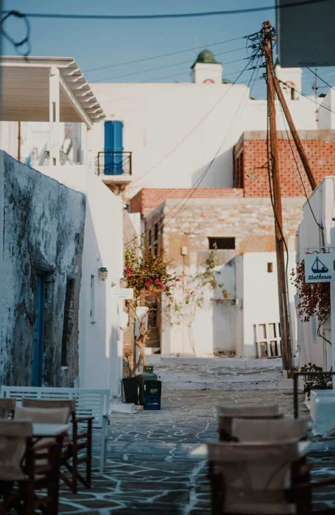 Paros is the best Greek island for couples