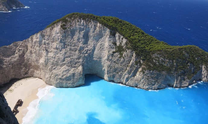 Zakynthos is one of the best Greek islands for couples planning a romantic holiday in Greece