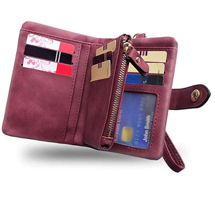 A travel wallet should be in every packing list for women