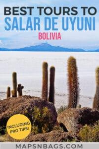 Salar de Uyuni salt flats tours Pinterest Graphic