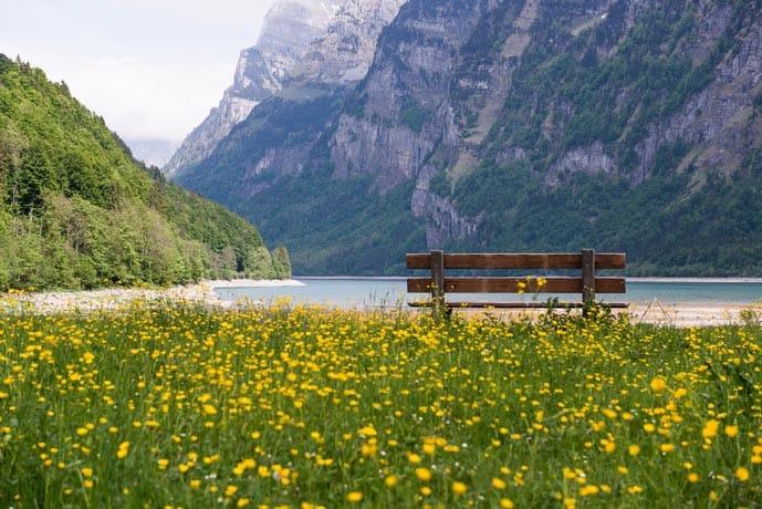 Geneva lake in a Switzerland honeymoon