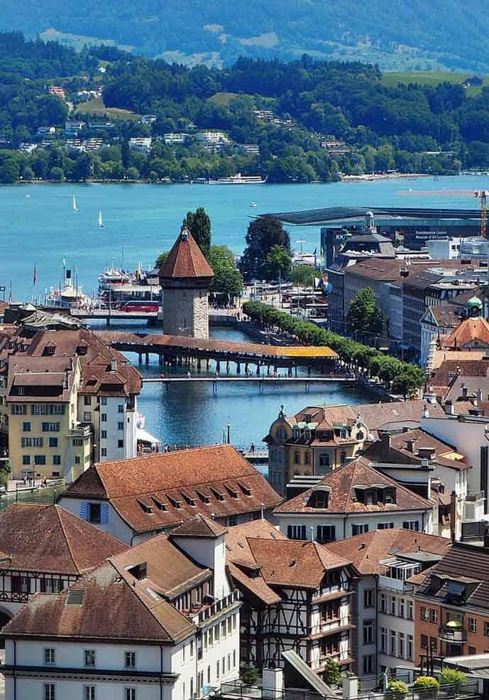 Honeymoon in Lucerne, Switzerland