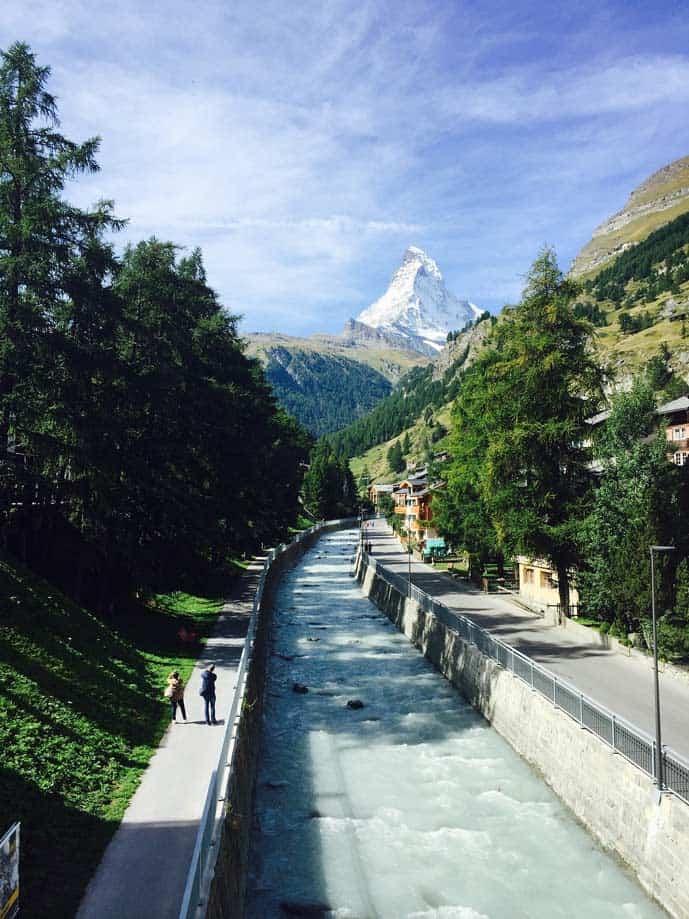 Honeymoon in Zermatt, Switzerland