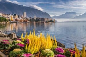 Montreux in Switzerland