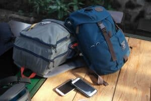 Travel rolling backpacks