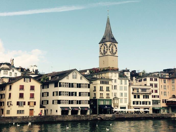 Switzerland honeymoon in Zurich