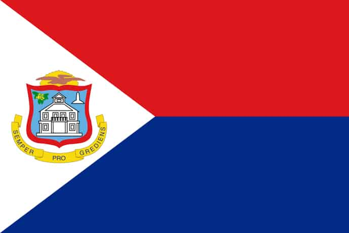 Flag of Sint Maarten, Territory of the Netherlands