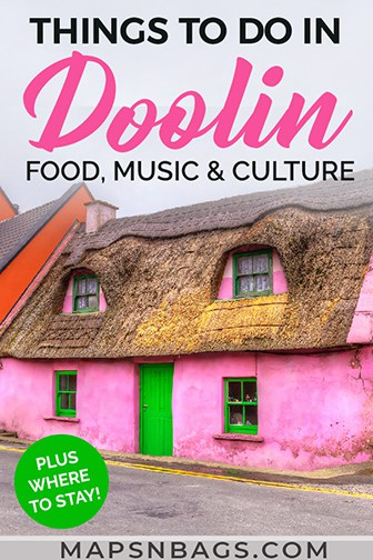 Things to do in Doolin Ireland Pinterest graphic