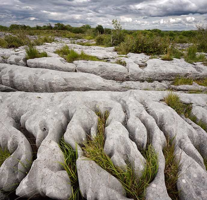 The Burren National Park near Doolin Ireland