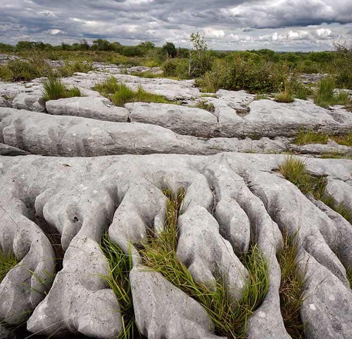 The Burren National Park near Doolin Ireland
