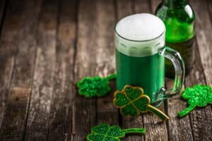 Fun facts about Ireland: green beer for Saint Patrick's Day