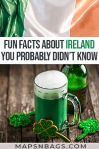 Facts about Ireland Pinterest graphic