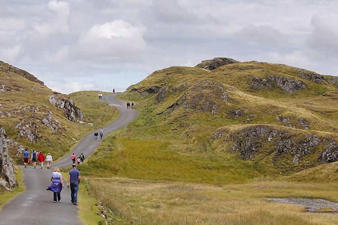Hiking in Doolin Ireland