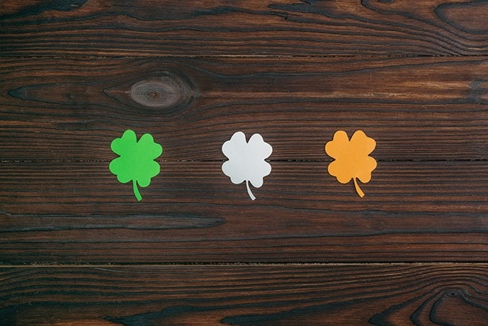Shamrock: Irish symbols