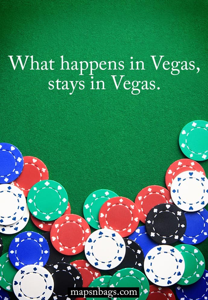 Quote about Vegas