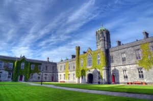 Galway University near one of the best places to stay in Galway