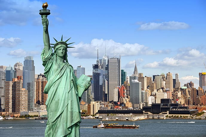 Liberty Statue in New York quotes