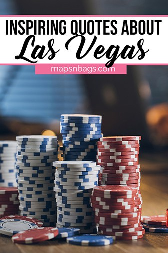 Las Vegas Quotes Pinterest graphic