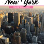Quotes about New York Pinterest graphic