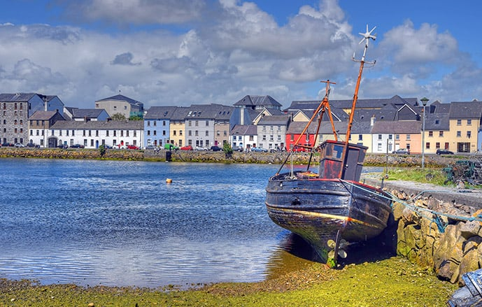 The Claddagh is one of the best places to stay in Galway