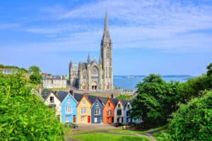 Colman Cathedral in Cobh, Cork County