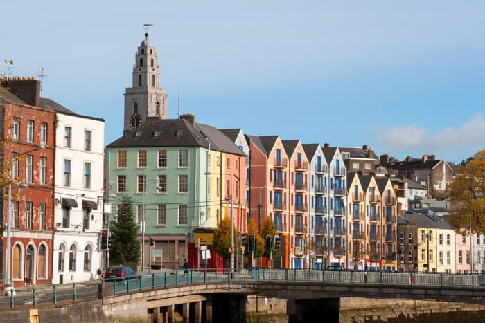 St Patrick's Quay and River Lee in Cork