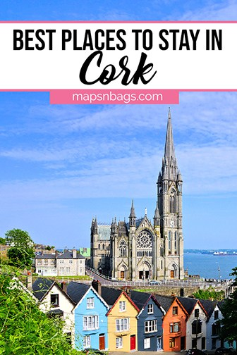 Where to stay in Cork Ireland - Pinterest graphic for the best hotels in Cork