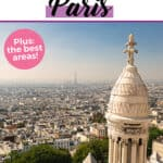 Where to stay in Paris Pinterest graphic