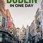 One day in Dublin Pinterest graphic