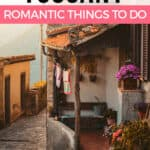 Romantic things to do in Tuscany, Italy Pinterest graphic