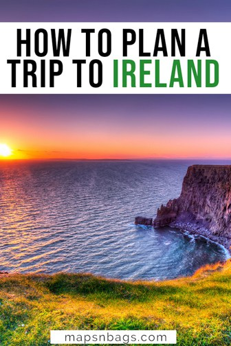 Planning a trip to Ireland Pinterest graphic