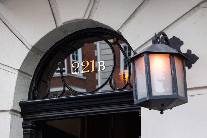 221B Baker Street is a hidden gem in London