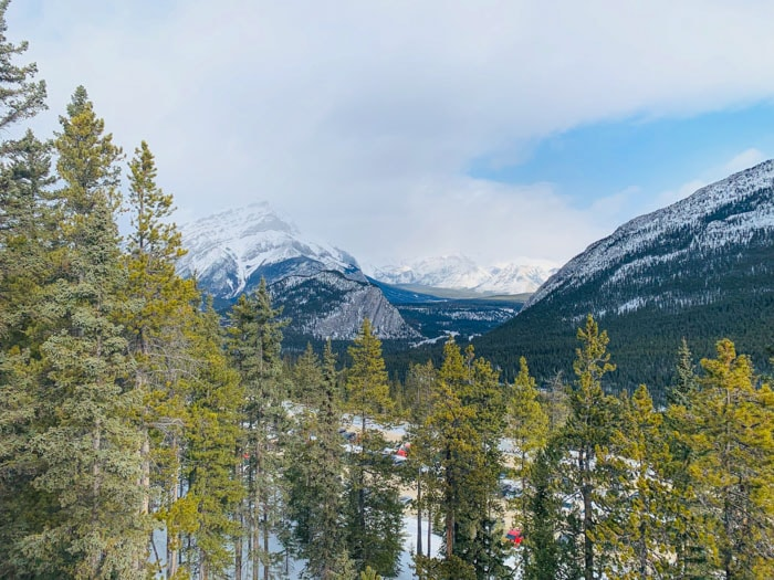 Sulphur Mountain in Banff