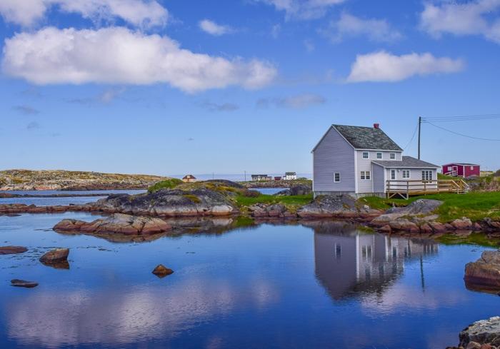Fogo Island in Newfoundland and Labrador, Canada