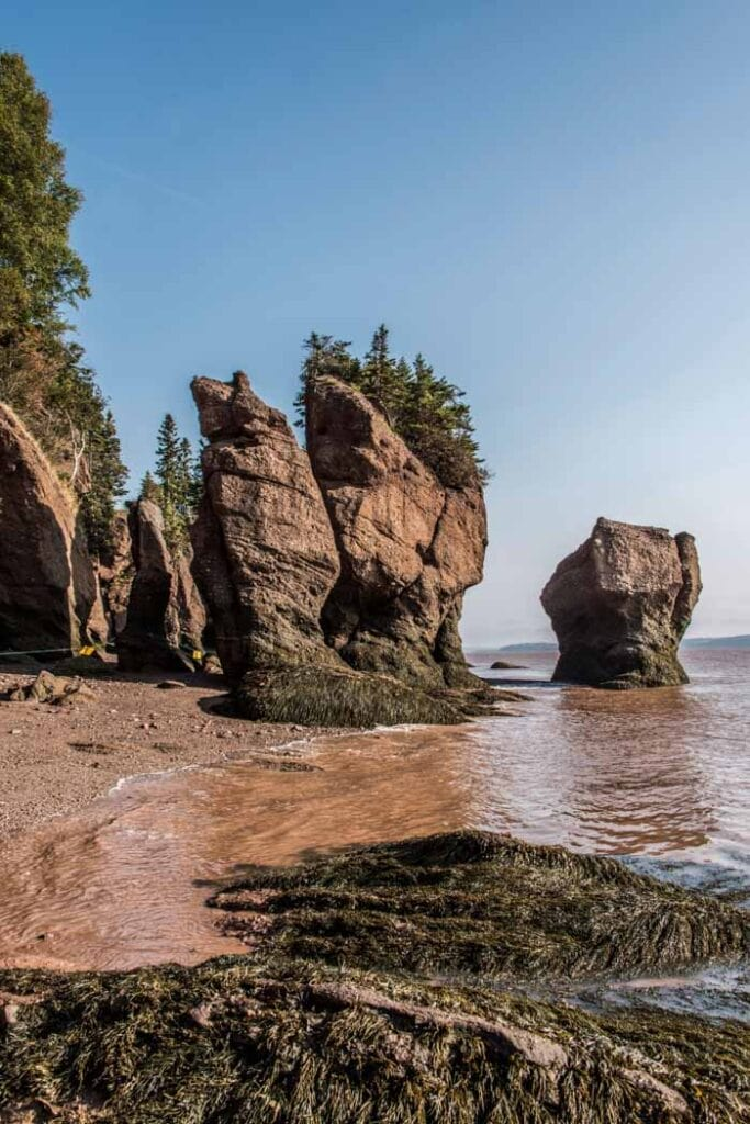 Hopewell Rocks in Fundy National Park, Canada
