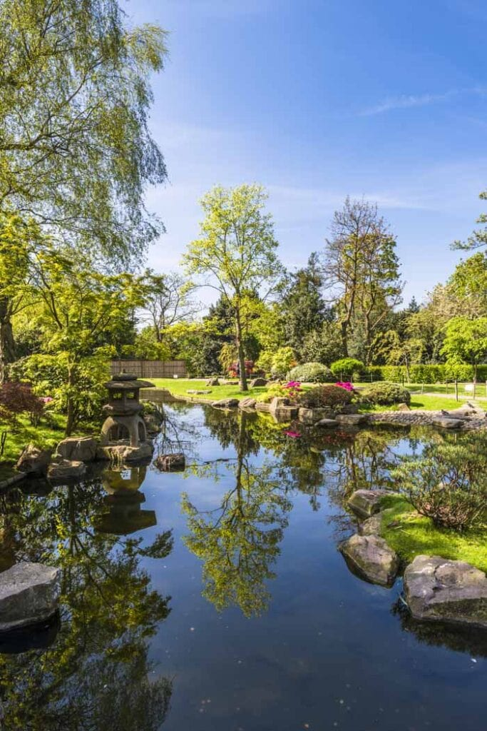 A visit to Kyoto Garden Holland Park is a unusual thing to do in London