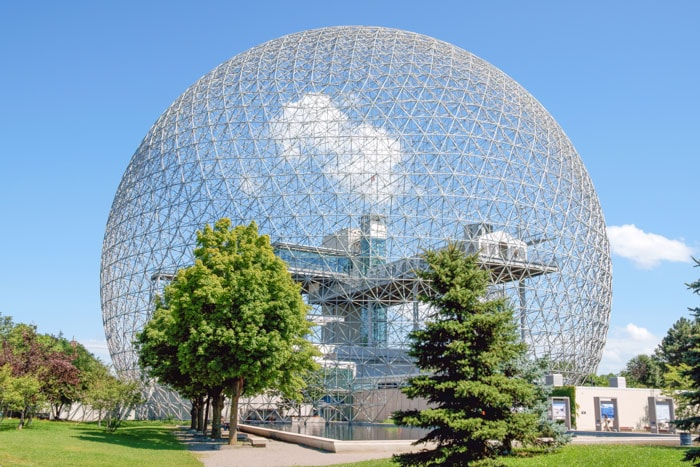 Montreal Biosphere in Canada