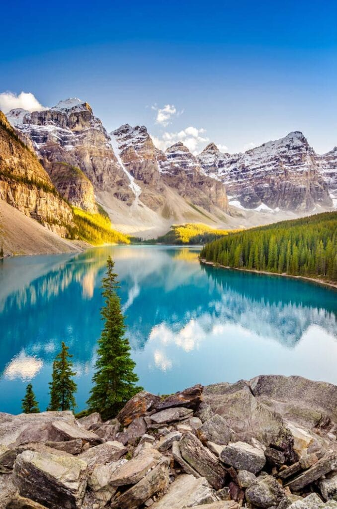 Banff is one of the most beautiful places in Canada
