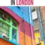Hidden gems in London Pinterest graphic
