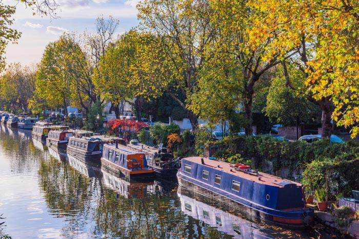 Little Venice is a hidden place in London