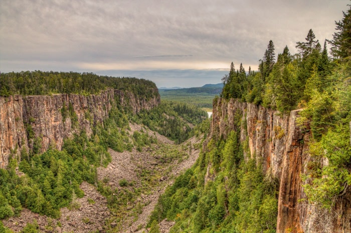 Ouimet Canyon is one of the stops at a northern Ontario Road trip