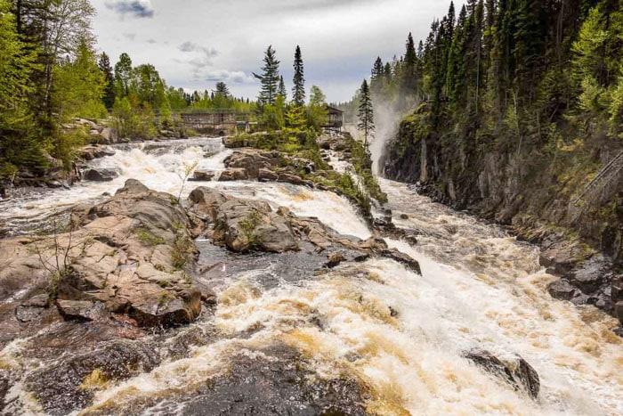 Saguenay Mars River in Quebec