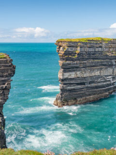 Downpatrick Head in Ireland