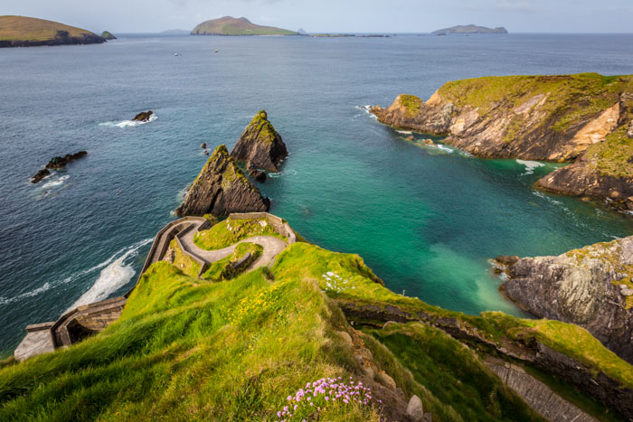 Dunquin Pier in Dingle Peninsula, Ireland