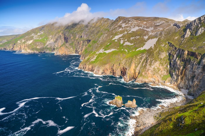 Slieve League Cliffs in Ireland