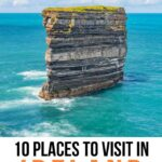 Places to visit in Ireland Pinterest graphic