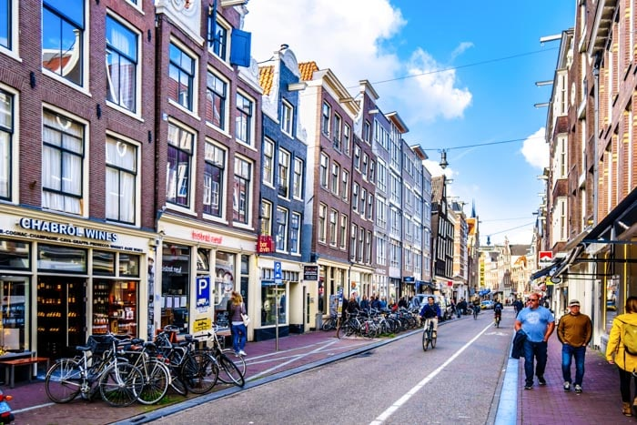 Haarlemmerstraat is a charming street in Amsterdam