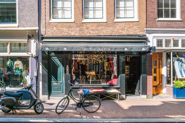 Negen Straatjes are charming streets in Amsterdam